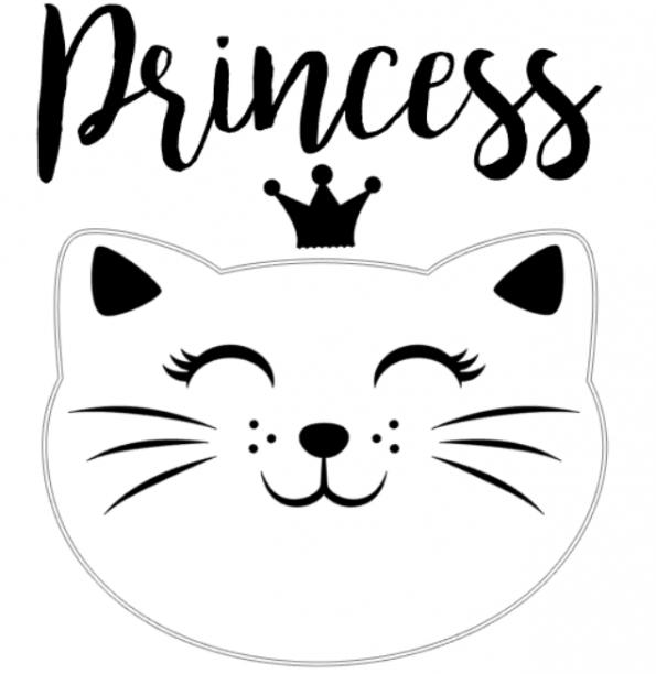 www.themisscat.pl-THE-MISS-CAT-naklejka-z-kotem-30×30-Princess