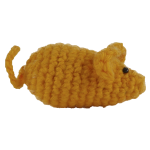 cotton mouse yellow THE MISS CAT toy for cat cats www.themisscat