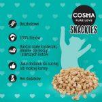 Naturalne przysmaki dla kota Cosma Original Snackies MINIS – ŁOSOŚ (1)