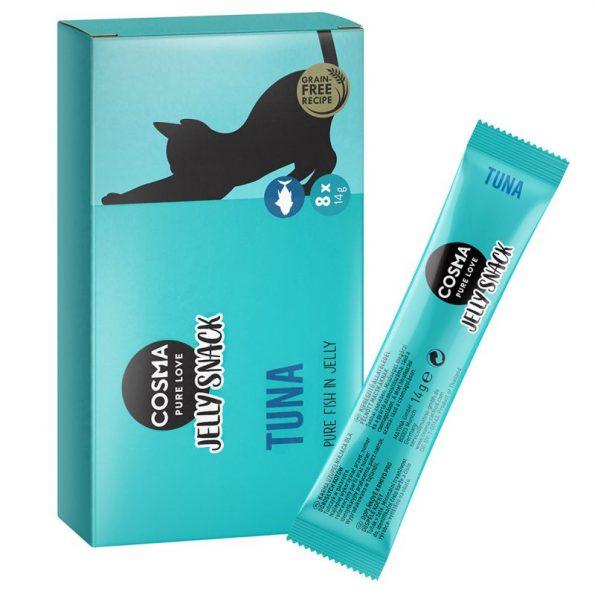 Naturalne przysmaki dla kota Cosma Jelly tuńczyk (1)