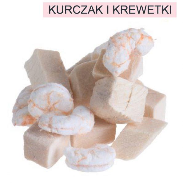 Naturalne przysmaki dla kota Cosma Original Snackies DUO- KURCZAK i KREWETKI (3)