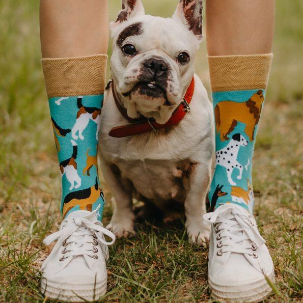 Skarpetki dla psoary z psami -Psi przyjaciele (2)
