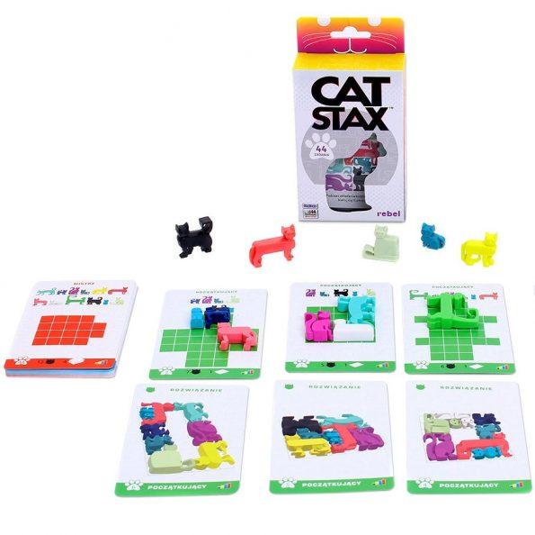 Cat Stax, rebel gra logiczna z kotami, Rebel (3)