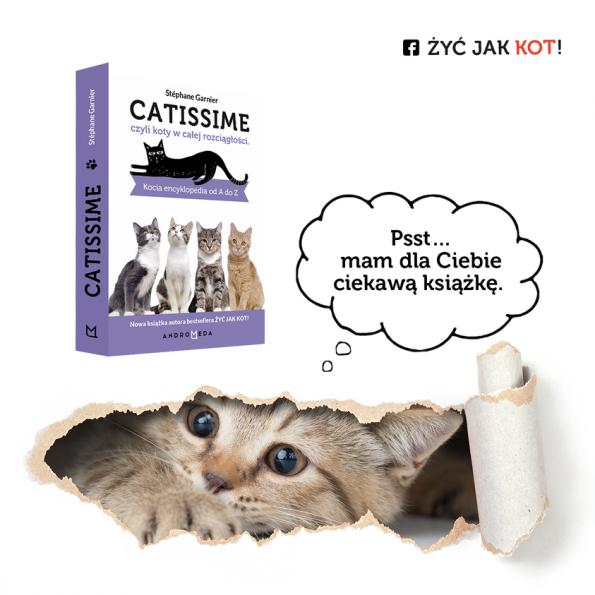 Catissime czyli koty w całej rozciągłości kocia encyklopedia od A do Z