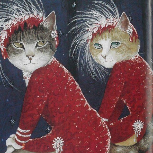 Galeria kotówl Historia sztuki pisana pazurem, Susan Herbert (2)