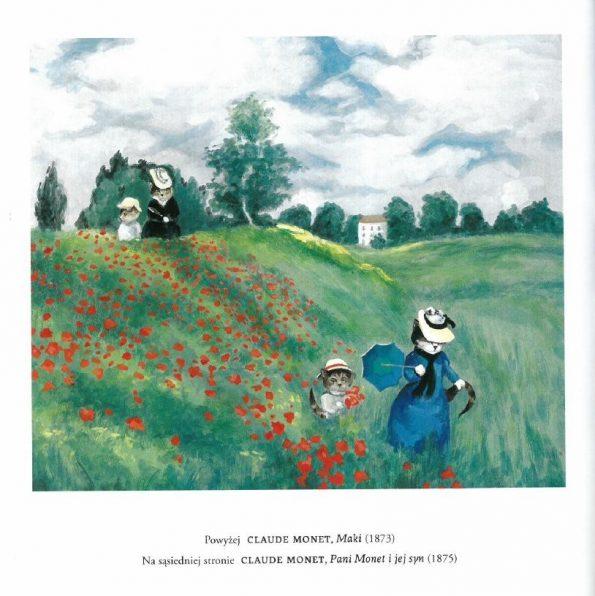 Galeria kotówl Historia sztuki pisana pazurem, Susan Herbert (3)
