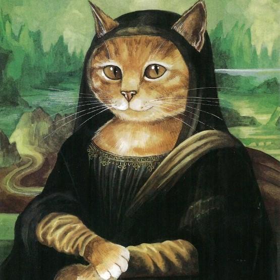 Galeria kotówl Historia sztuki pisana pazurem, Susan Herbert (5)
