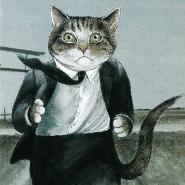Galeria kotówl Historia sztuki pisana pazurem, Susan Herbert (6)