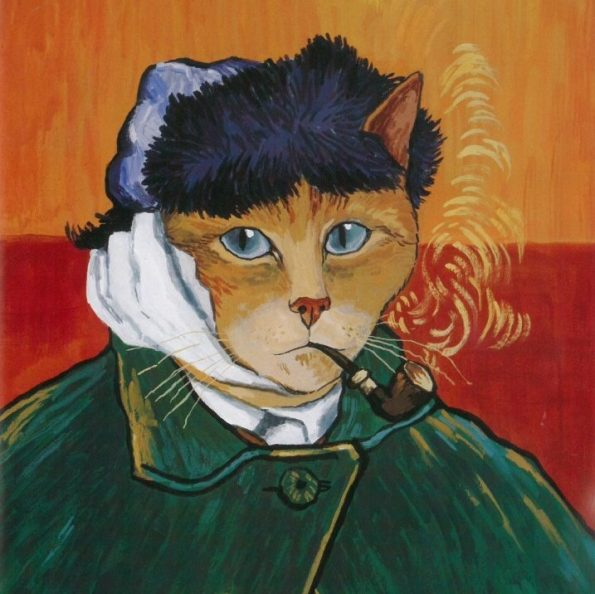 Galeria kotówl Historia sztuki pisana pazurem, Susan Herbert (7)