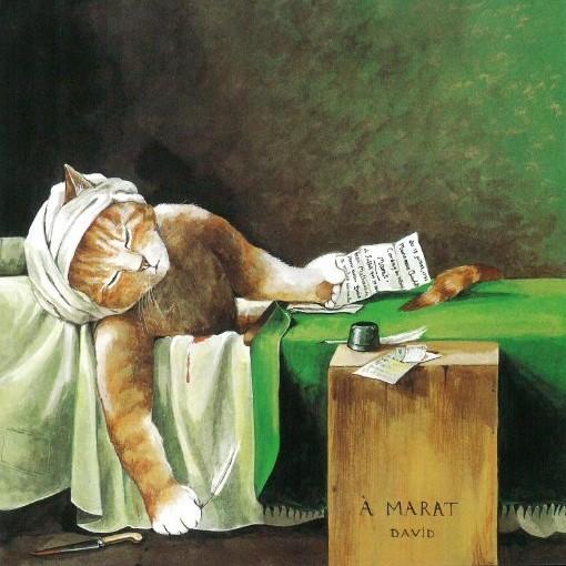 Galeria kotówl Historia sztuki pisana pazurem, Susan Herbert (8)