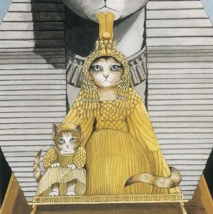 Galeria kotówl Historia sztuki pisana pazurem, Susan Herbert (9)