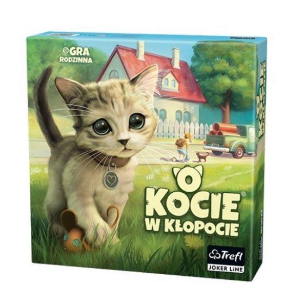 Gra familyjna O kocie w kłopocie, trefl (1)