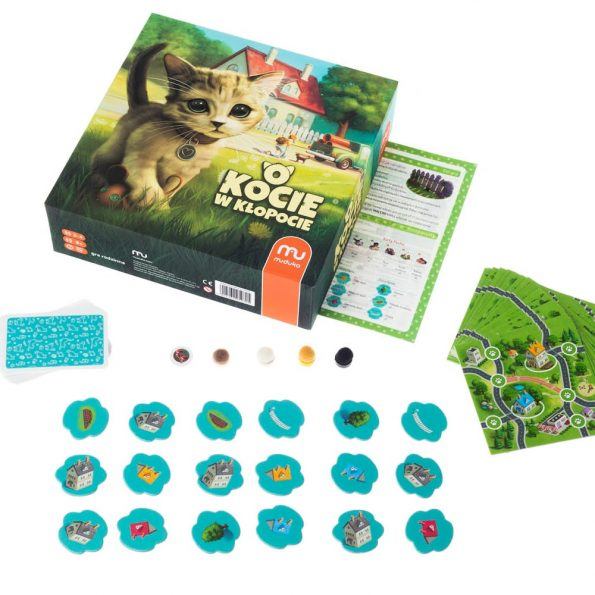 Gra familyjna O kocie w kłopocie, trefl (2)