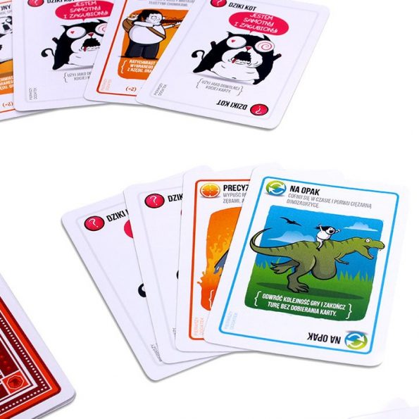 Implodujace kotki, dodatek do gry Eksplodujące kotki, Rebel, gra karciana (3)