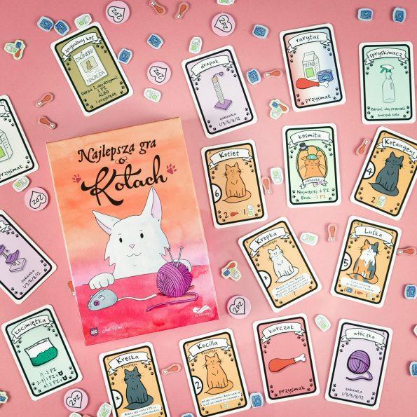 Najlepsza gra o kotach, gra karciana, Fox Games (6)