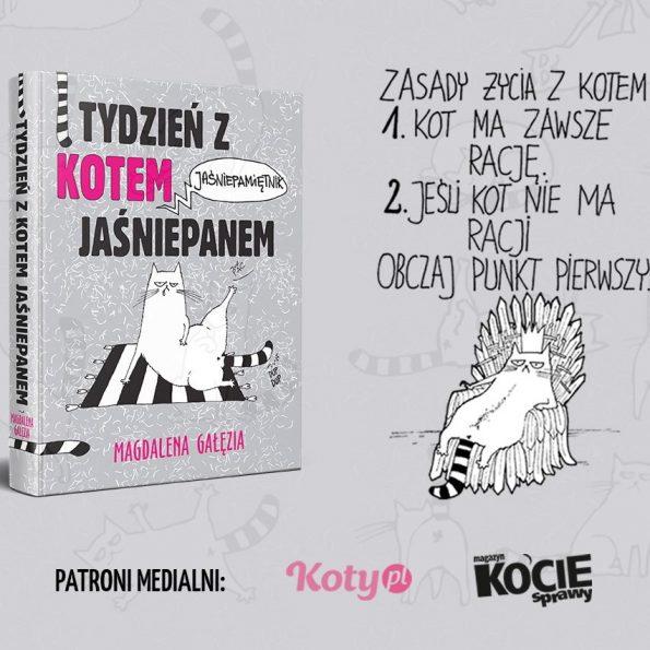 Tydzień z Kotem Jaśniepanem. Jasniepamietnik, wydawnictwo RM (3)