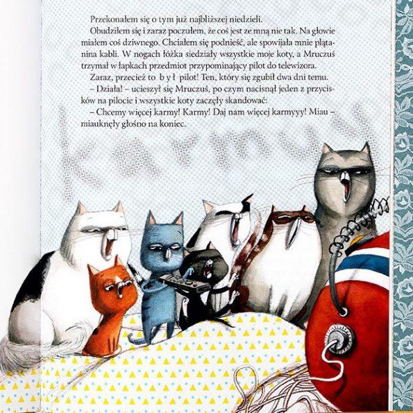 Wesołe przypadki kociej gromadki (7)