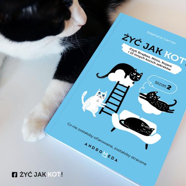Żyć jak kot! Sezon 2. Czyli Strajbez, Ninio, Kojani i 12 innych kocich sekretów