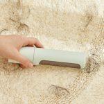 2 w 1 wielokrotnego użytku szczotka do usuwania sierści zwierząt domowych rolka do usuwania kłaczków samoczyszcząca się kot futro (11)