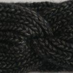 przepaska gruba wełna z alpaki – grafitowa