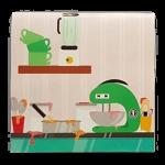Kot PIECZE TORT, MINI kartka POPUP 3d KOTKI na URODZINY na Prezent (3)