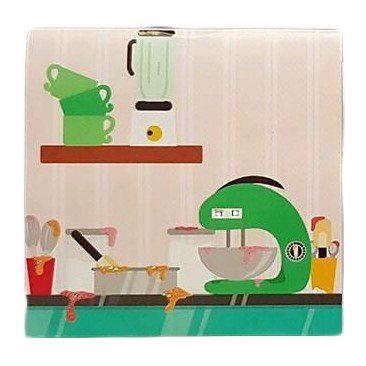 Kot PIECZE TORT, MINI kartka POPUP 3d KOTKI na URODZINY na Prezent (8)