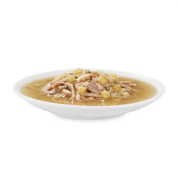 Naturalne przysmaki dla kota Cosma SOUP tuńczyk i kurczak z batatami cosma_soup_tunachicken_12x40g_3 (4)