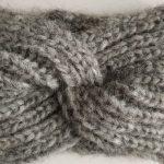 opaska cieńsza, wełna z alpaki – szara (1) TMC